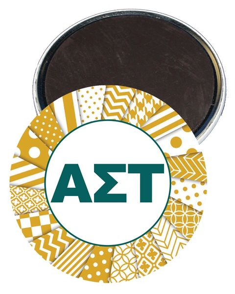 Alpha Sigma Tau Letters Magnet