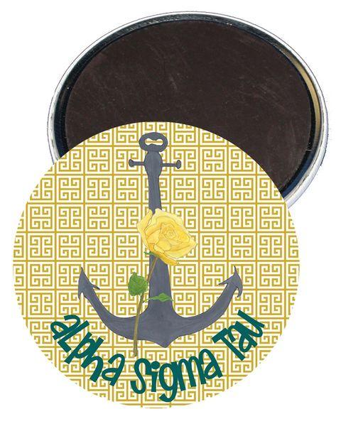 Alpha Sigma Tau Logo Magnet