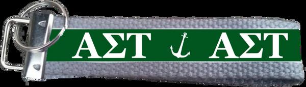 Alpha Sigma Tau Logo Key Fob