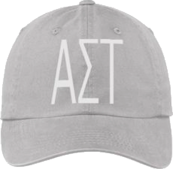 Alpha Sigma Tau Gray Ball Cap