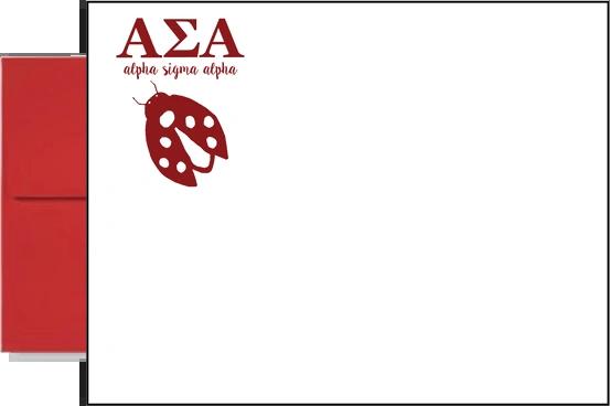 Alpha Sigma Alpha Letter Postcards