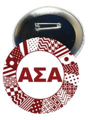 Alpha Sigma Alpha Letters Button
