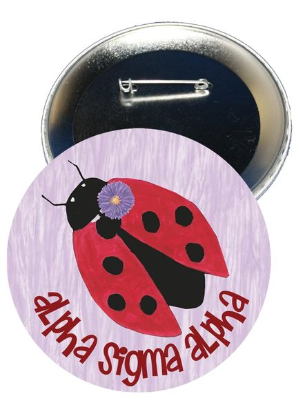 Alpha Sigma Alpha Logo Button