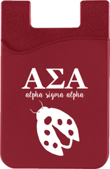 Alpha Sigma Alpha Logo Cell Phone Pocket