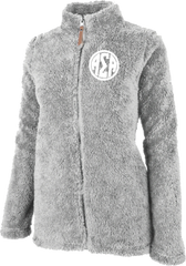 Alpha Sigma Alpha Fluffy Fleece Jacket