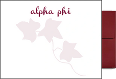 Alpha Phi Background Postcards