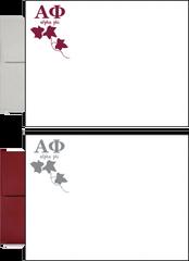Alpha Phi Letter Postcards