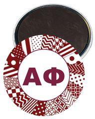 Alpha Phi Letters Magnet