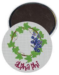 Alpha Phi Logo Magnet