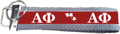 Alpha Phi Logo Key Fob