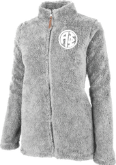 Alpha Phi Fluffy Fleece Jacket