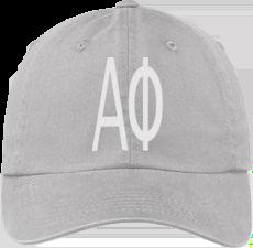 Alpha Phi Gray Ball Cap