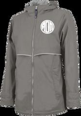 Alpha Omicron Pi Monogram Rain Jacket