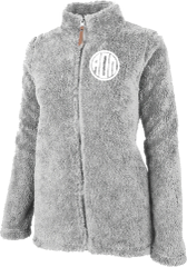 Alpha Omicron Pi Fluffy Fleece Jacket