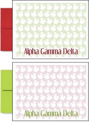 Alpha Gamma Delta Sorority Postcards