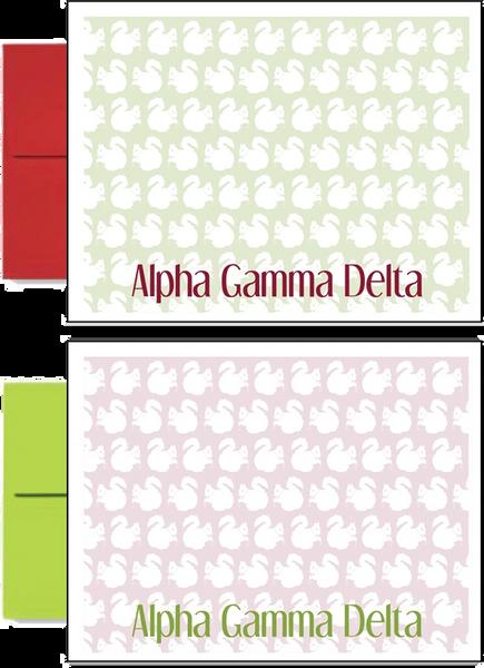Alpha Gamma Delta Sorority Postcards