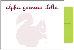 Alpha Gamma Delta Background Postcards