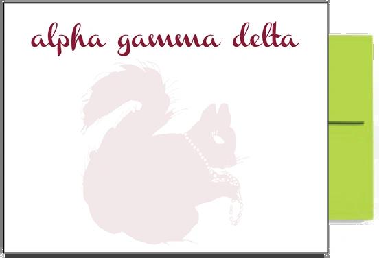 Alpha Gamma Delta Background Postcards