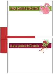 Alpha Gamma Delta Mom Logo Postcards