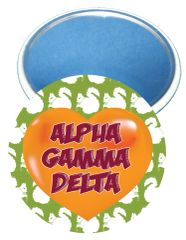 Alpha Gamma Delta Heart Mirror