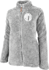Alpha Gamma Delta Fluffy Fleece Jacket
