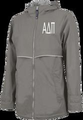 Alpha Delta Pi Letters Rain Jacket