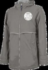 Alpha Delta Pi Monogram Rain Jacket