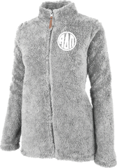 Alpha Delta Pi Fluffy Fleece Jacket
