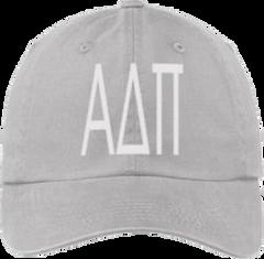 Alpha Delta Pi Gray Ball Cap