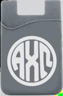 Alpha Chi Omega Monogram Cell Phone Pocket