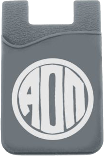 Alpha Omicron Pi Monogram Cell Phone Pocket