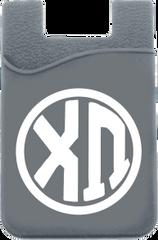Chi Omega Monogram Cell Phone Pocket