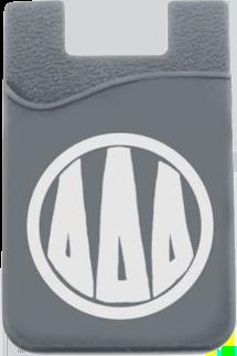 Delta Delta Delta Monogram Cell Phone Pocket