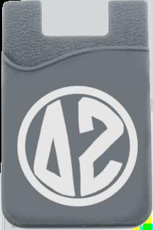 Delta Zeta Monogram Cell Phone Pocket