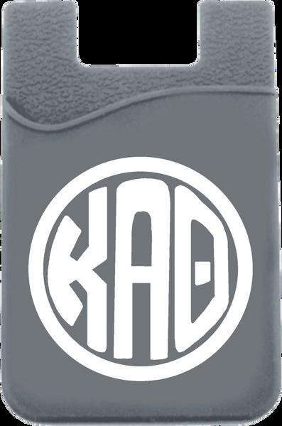 Kappa Alpha Theta Monogram Cell Phone Pocket