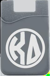 Kappa Delta Monogram Cell Phone Pocket