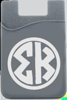 Sigma Kappa Monogram Cell Phone Pocket