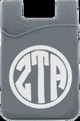 Zeta Tau Alpha Monogram Cell Phone Pocket