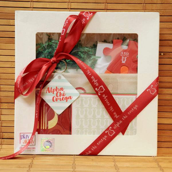 Alpha Chi Omega Large Gift Box
