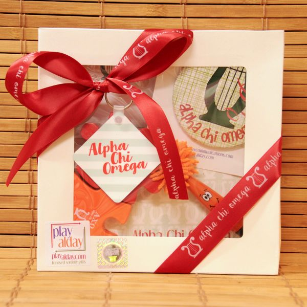 Alpha Chi Omega Small Gift Box