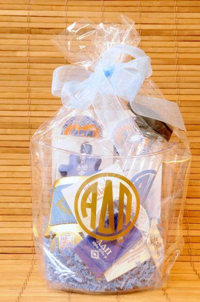 Alpha Delta Pi Gift Bucket