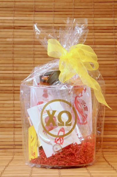 Chi Omega Gift Bucket