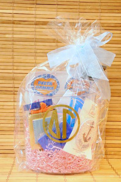 Delta Gamma Gift Bucket