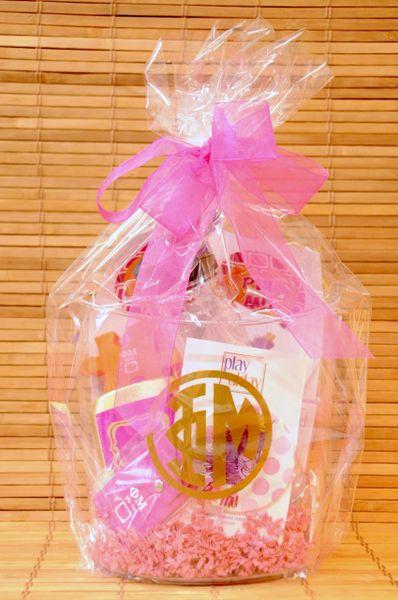 Phi Mu Gift Bucket