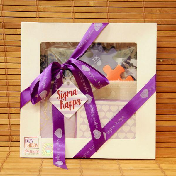 Sigma Kappa Large Gift Box