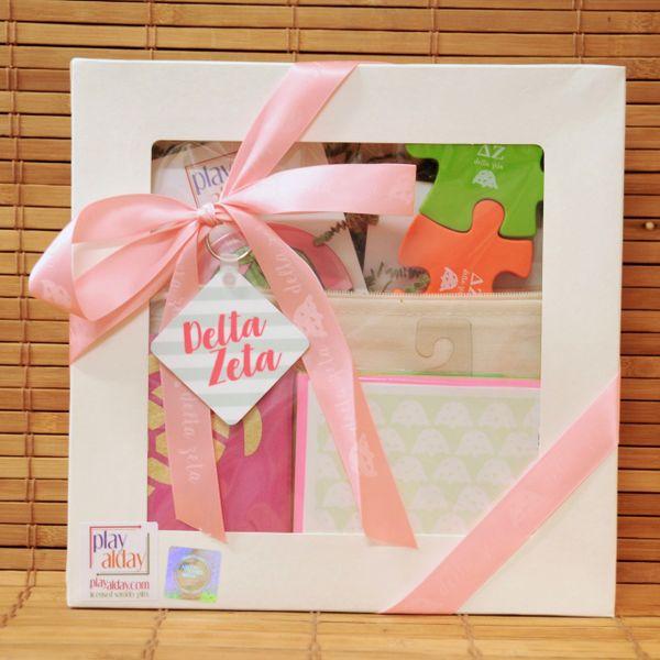 Delta Zeta Large Gift Box