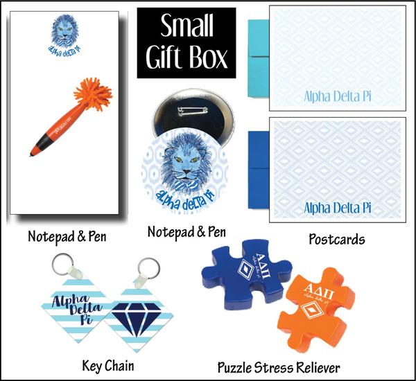 Alpha Delta Pi Small Gift Box