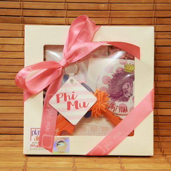 Phi Mu Small Gift Box