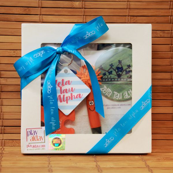 Zeta Tau Alpha Small Gift Box