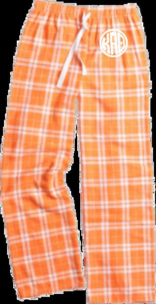 Kappa Alpha Theta Flannel Pants